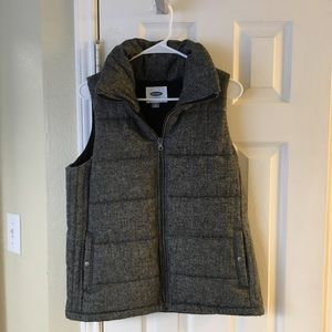 Old Navy Puffy Sweater Vest